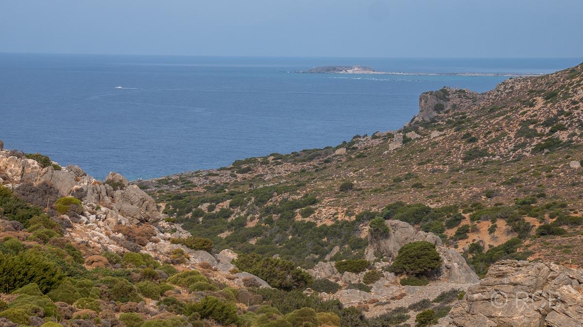 Fernblick bis zum Elafonisi-Strand