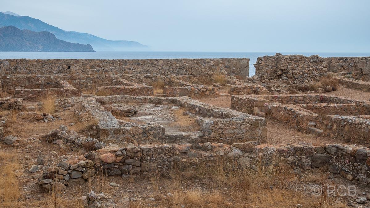 Reste des venezianischen Kastells oberhalb von Paleochora