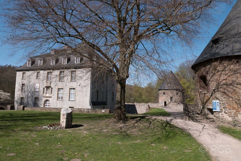 Schloss Hardenberg in Neviges am Neanderlandsteig