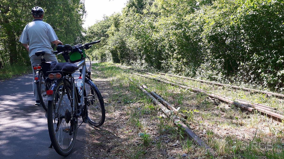 """Radtour auf dem """"Rheinischen Esel"""""""