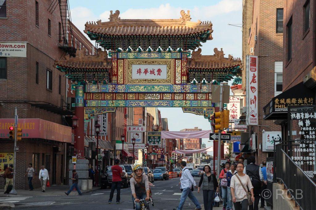 Eingangstor zu Philadelphias Chinatown