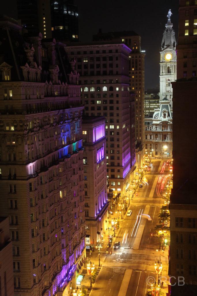 Ausblick von unserem Hotelzimmer auf die City Hall