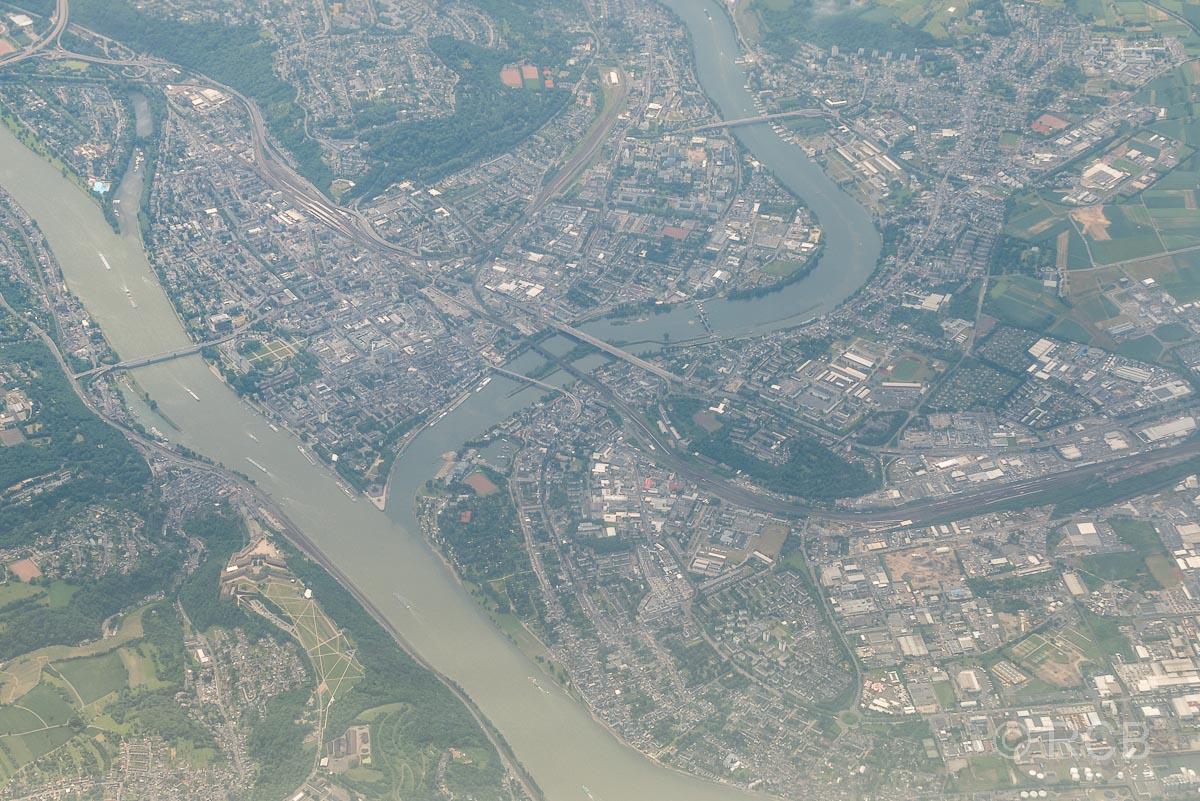 Koblenz mit dem Deutschen Eck