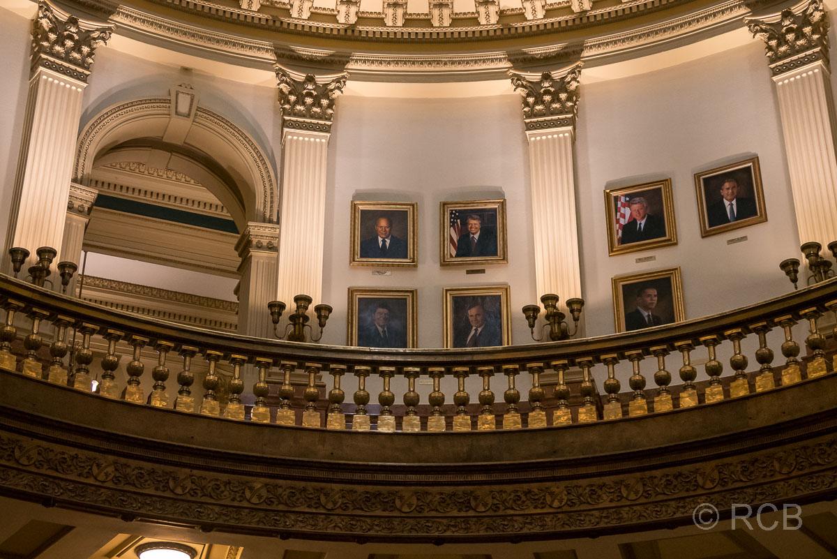 Capitol, Denver, Präsidentengalerie