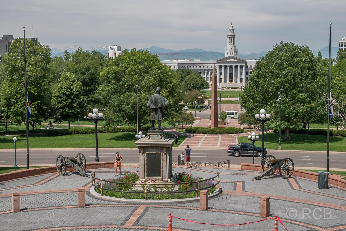 Civic Park und Denver City Council