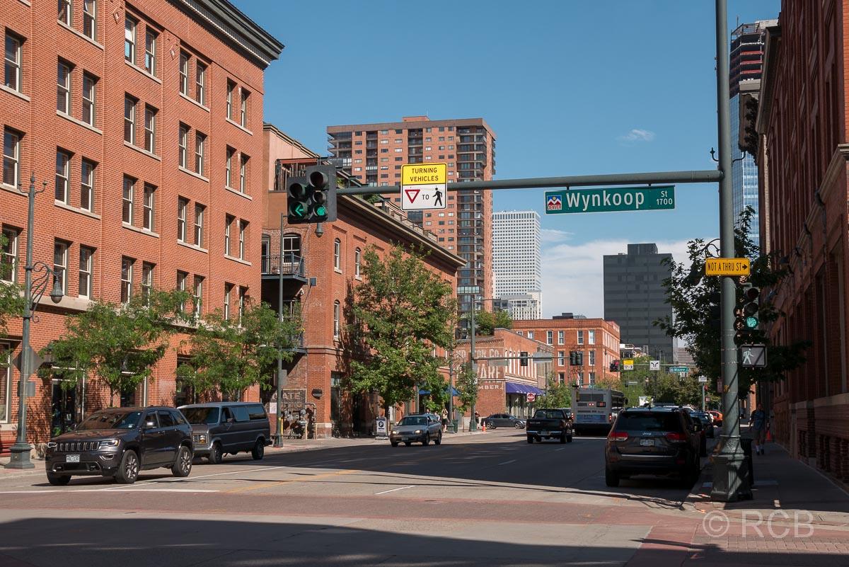 Straße in Denver