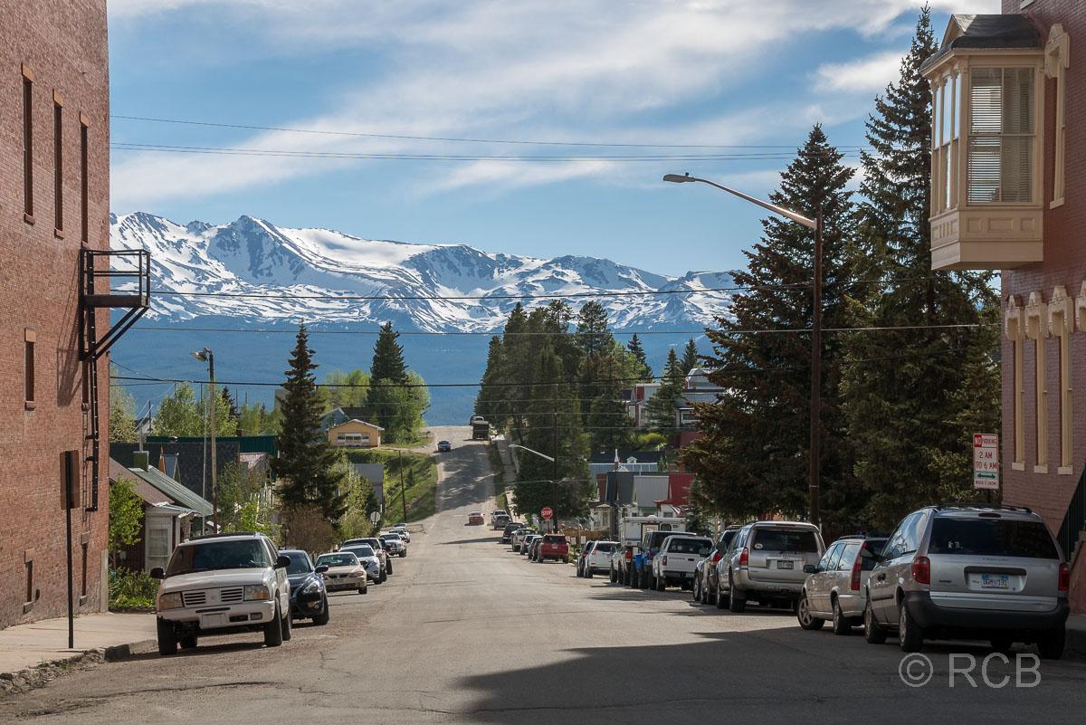 Straßenszene in Leadville