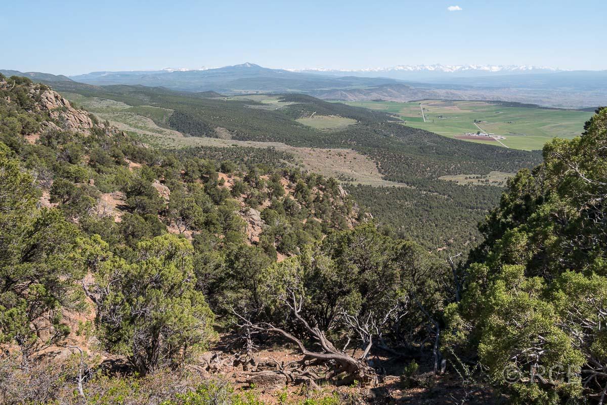Blick Richtung Südwest vom Warner Trail