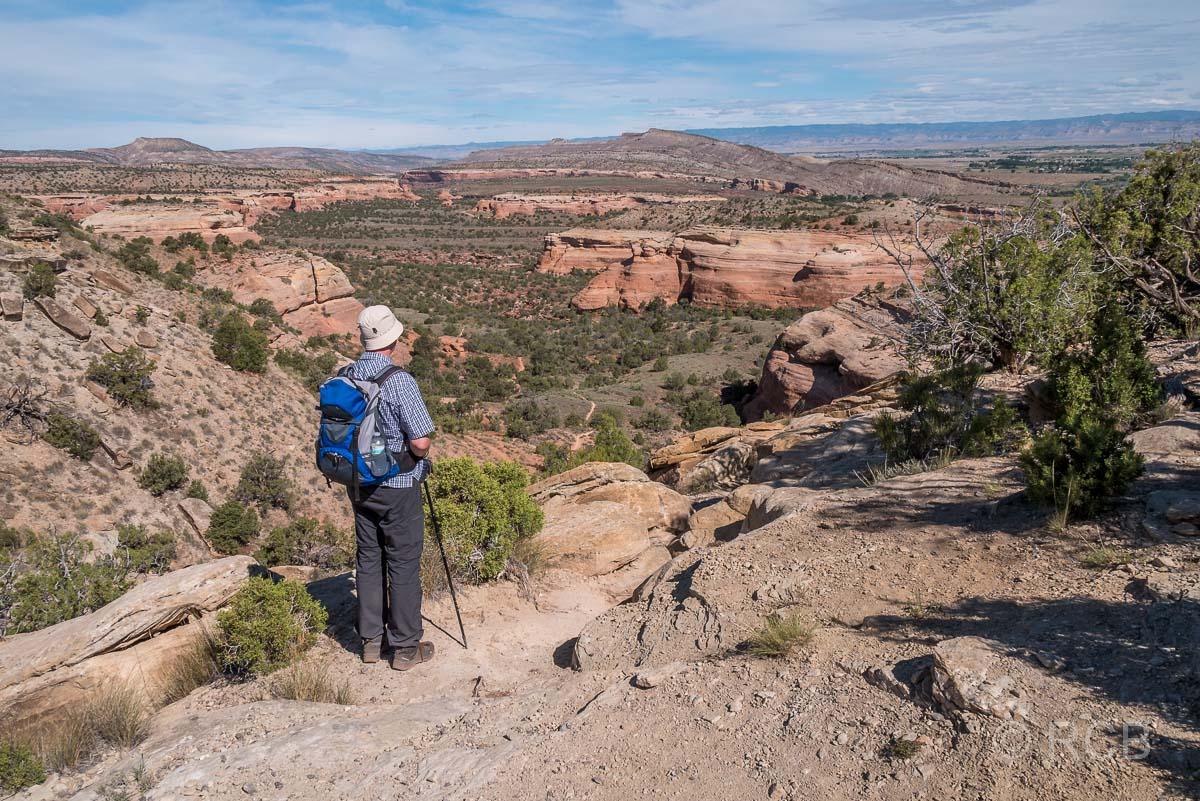 unterwegs zum Rattlesnake Canyon