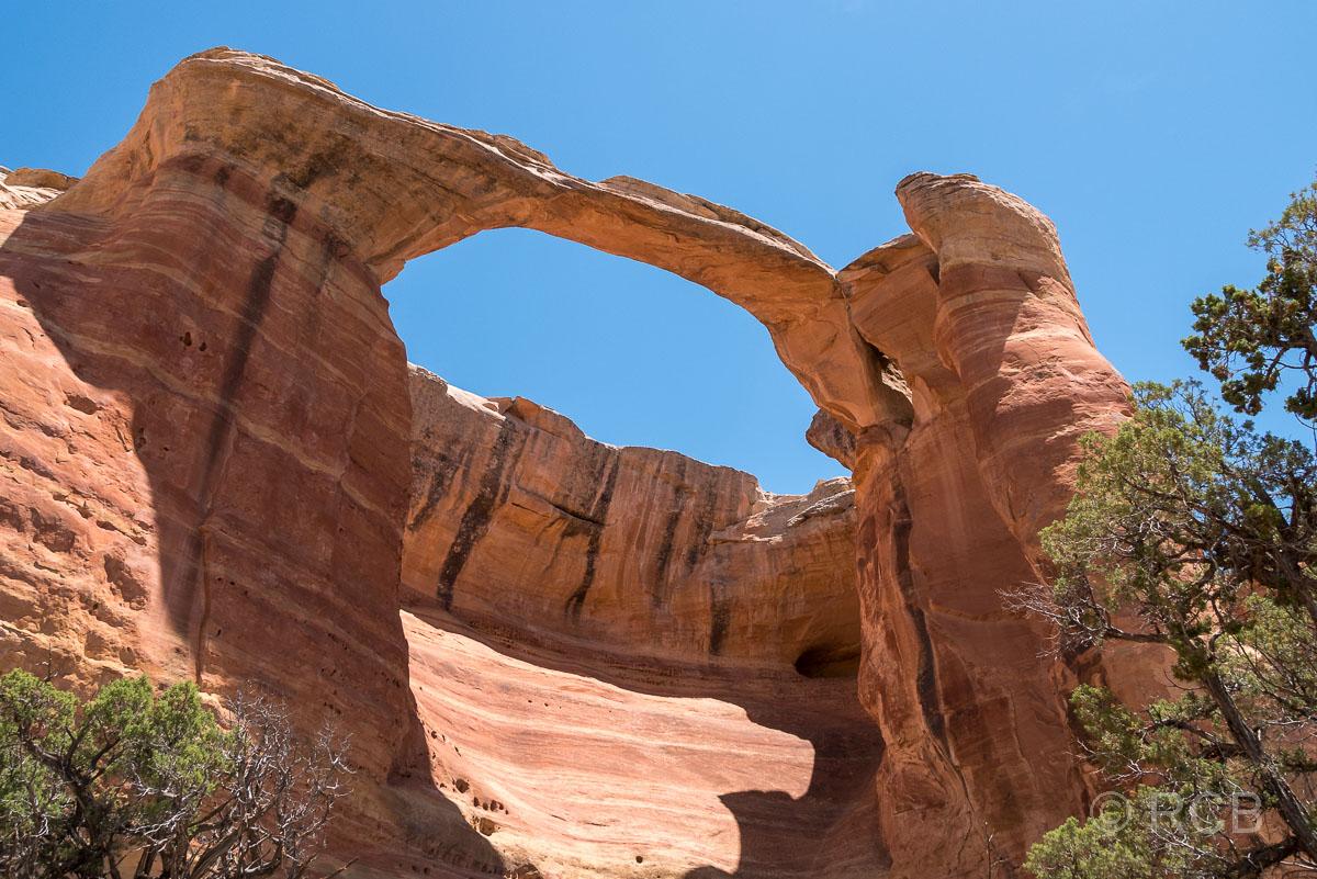 Akiti Arch, Rattlesnake Canyon