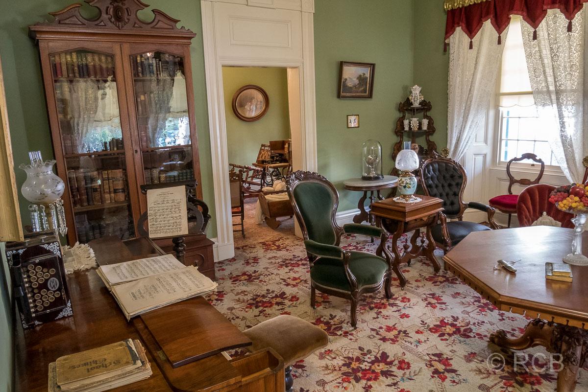Wohnzimmer im Beehive House