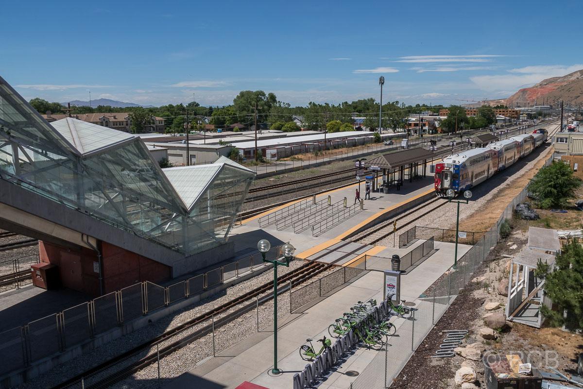 North Temple Station, Salt Lake City