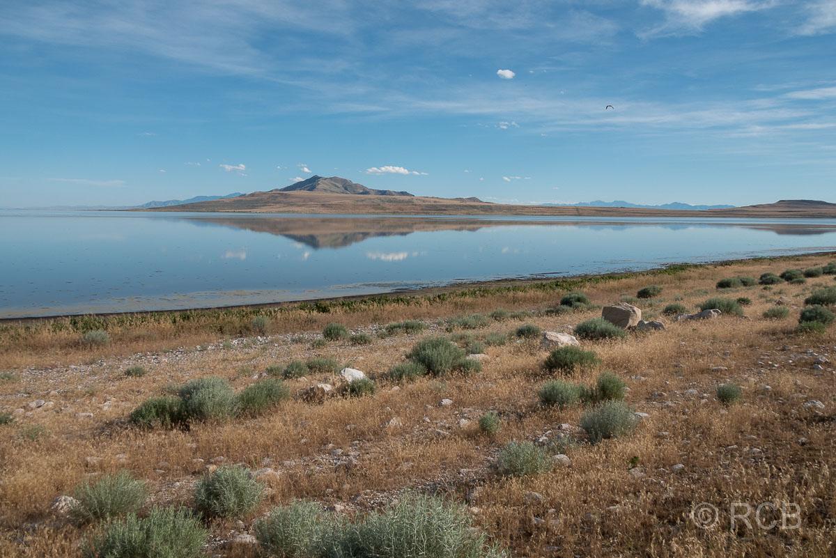 Antelope Island mit Frary Peak