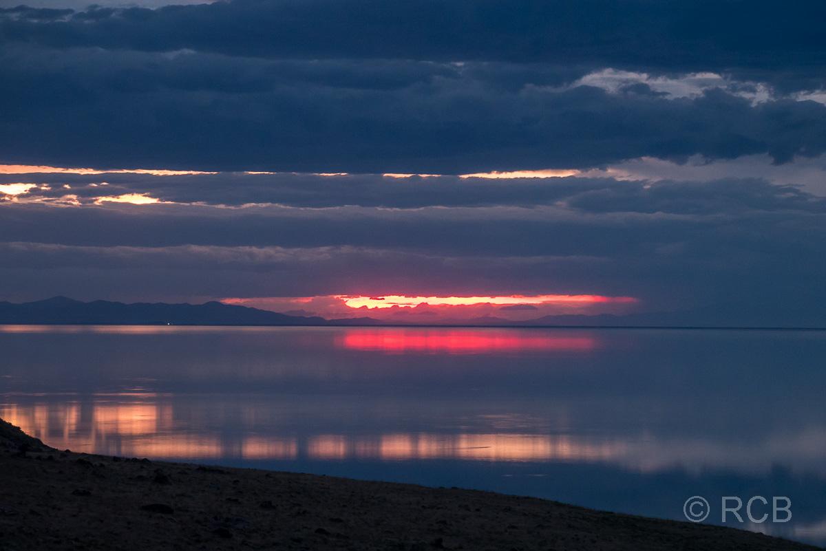 abendlicher Ausblick vom Buffalo Point, Antelope Island