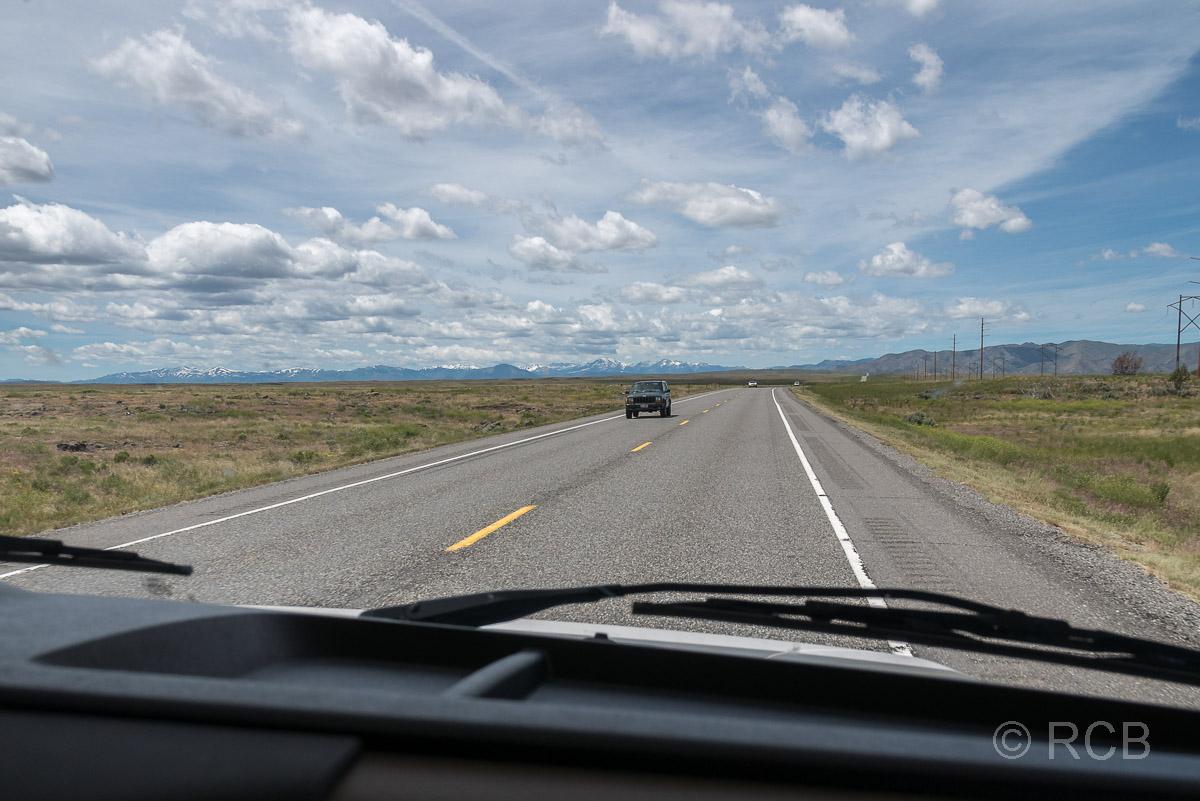 Straße in Idaho