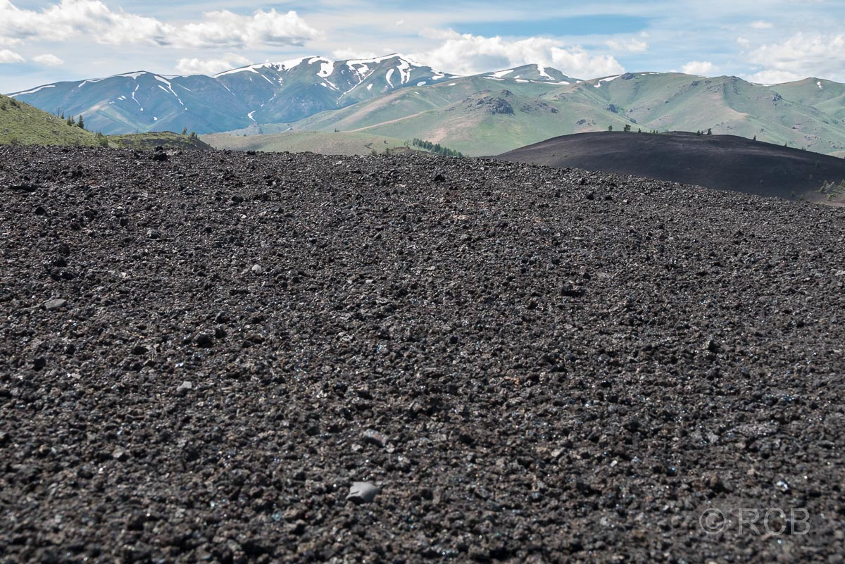 Blick vom Inferno Cone, Craters of the Moon NM