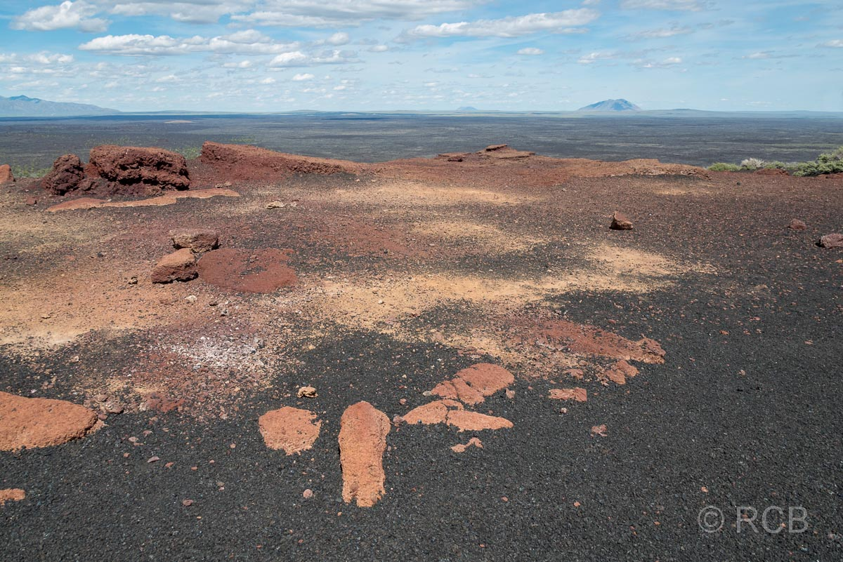 auf dem Inferno Cone, Craters of the Moon NM