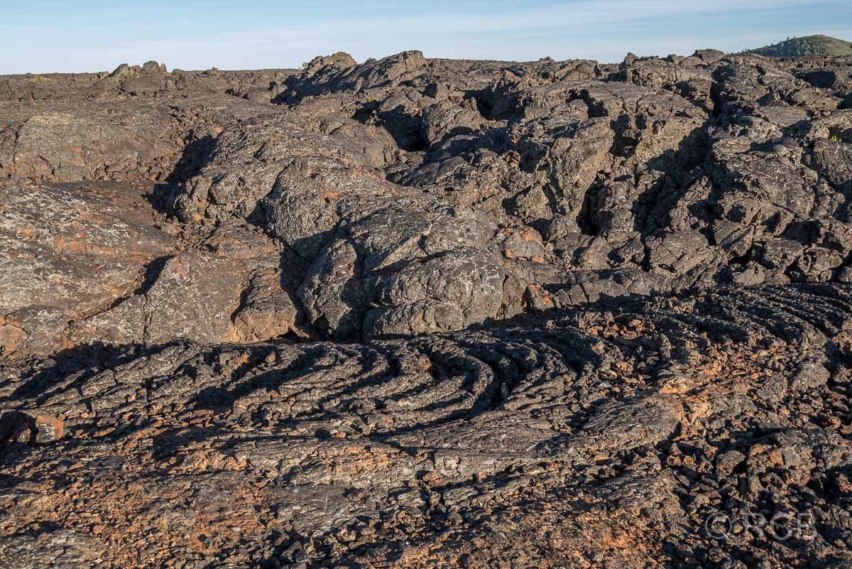 erstarrte Lava am Caves Trail, Craters of the Moon NM