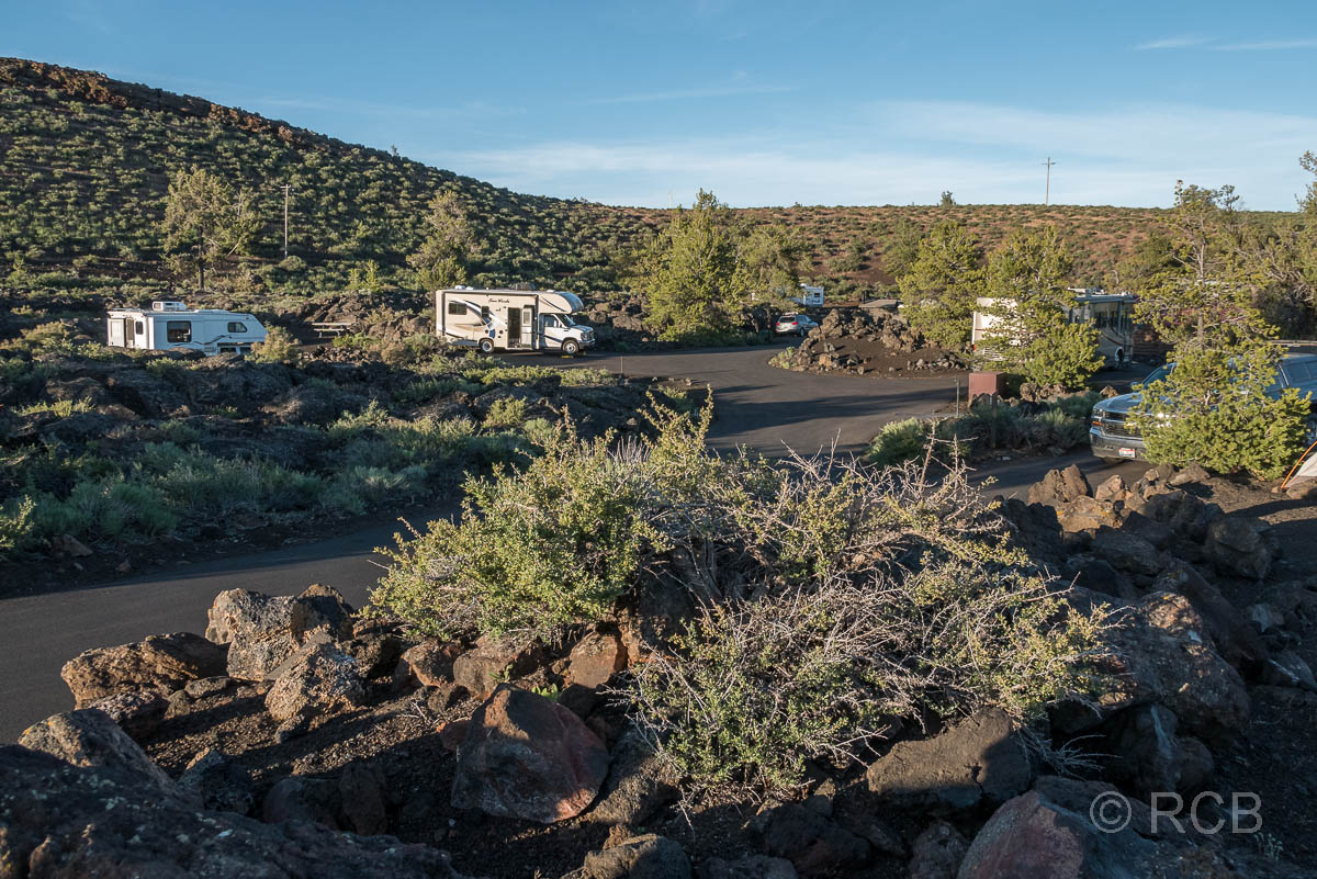 Lava Flow Campground, Craters of the Moon NM