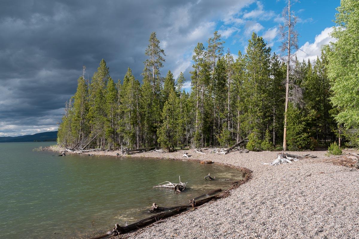 Lakeshore Trail, Grand Teton NP