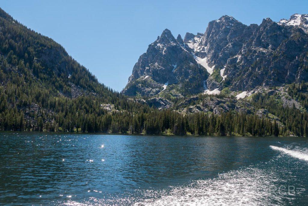 Bootsfahrt über den Jenny Lake, Grand Teton NP