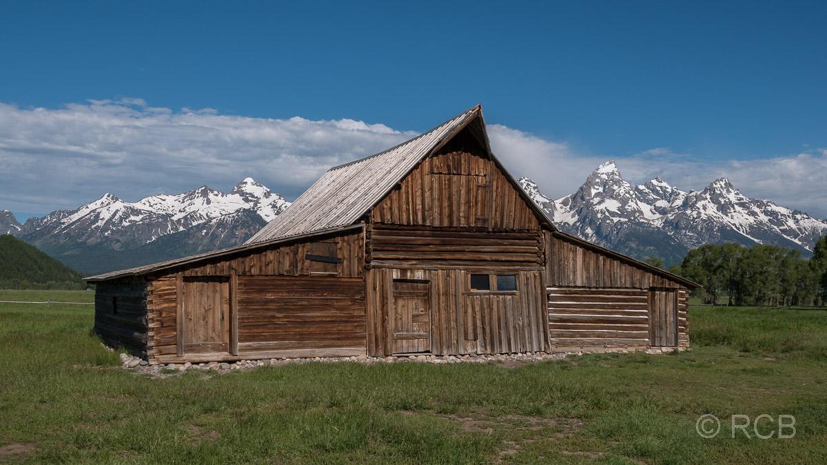Moulton Barn, Mormon Row, Grand Teton NP