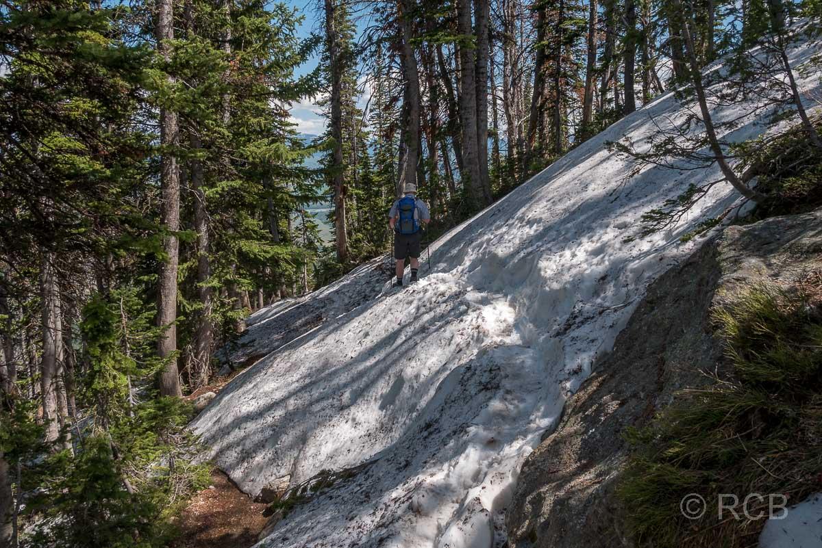 Amphitheater Lake Trail, Grand Teton NP