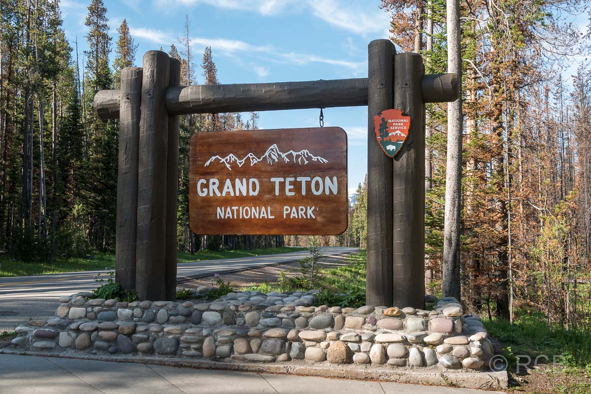 Grand Teton National Park, Nordausgang