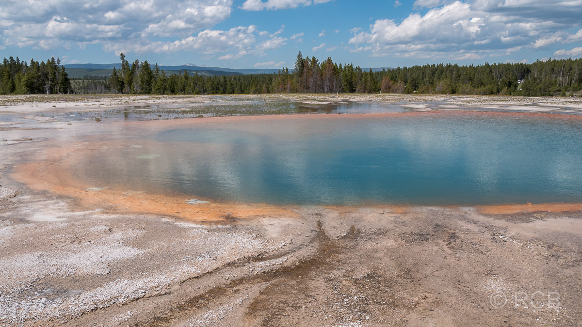 Midway Geyser Basin: Turquoise Pool, Yellowstone NP