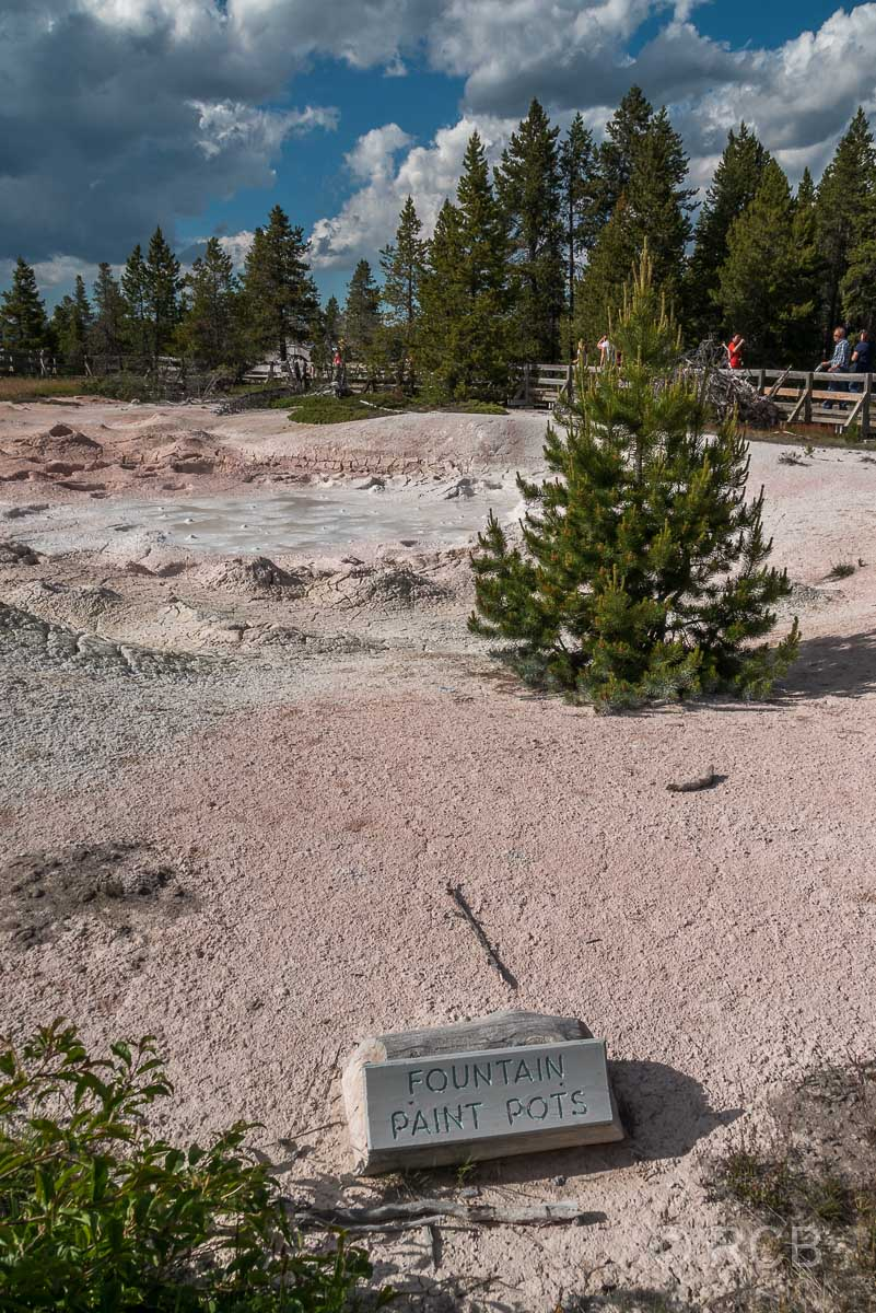 Lower Geyser Basin: Fountain Paint Pots, Yellowstone NP