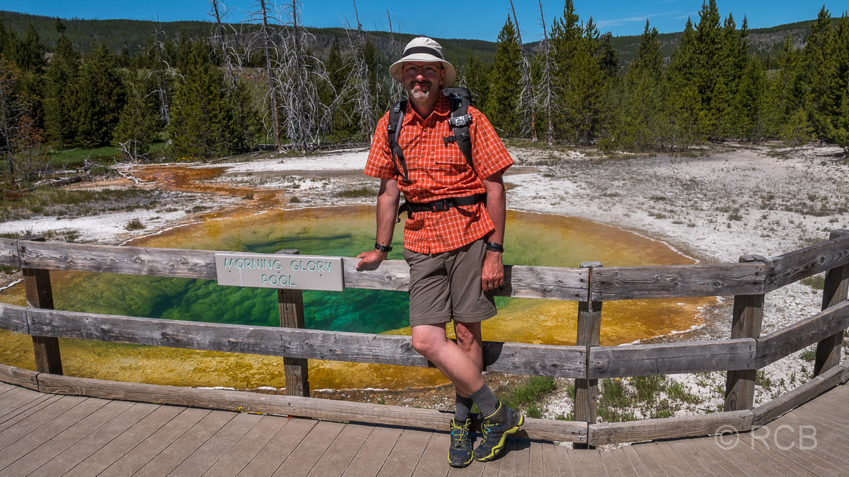 Upper Geyser Basin: Morning Glory Pool, Yellowstone NP