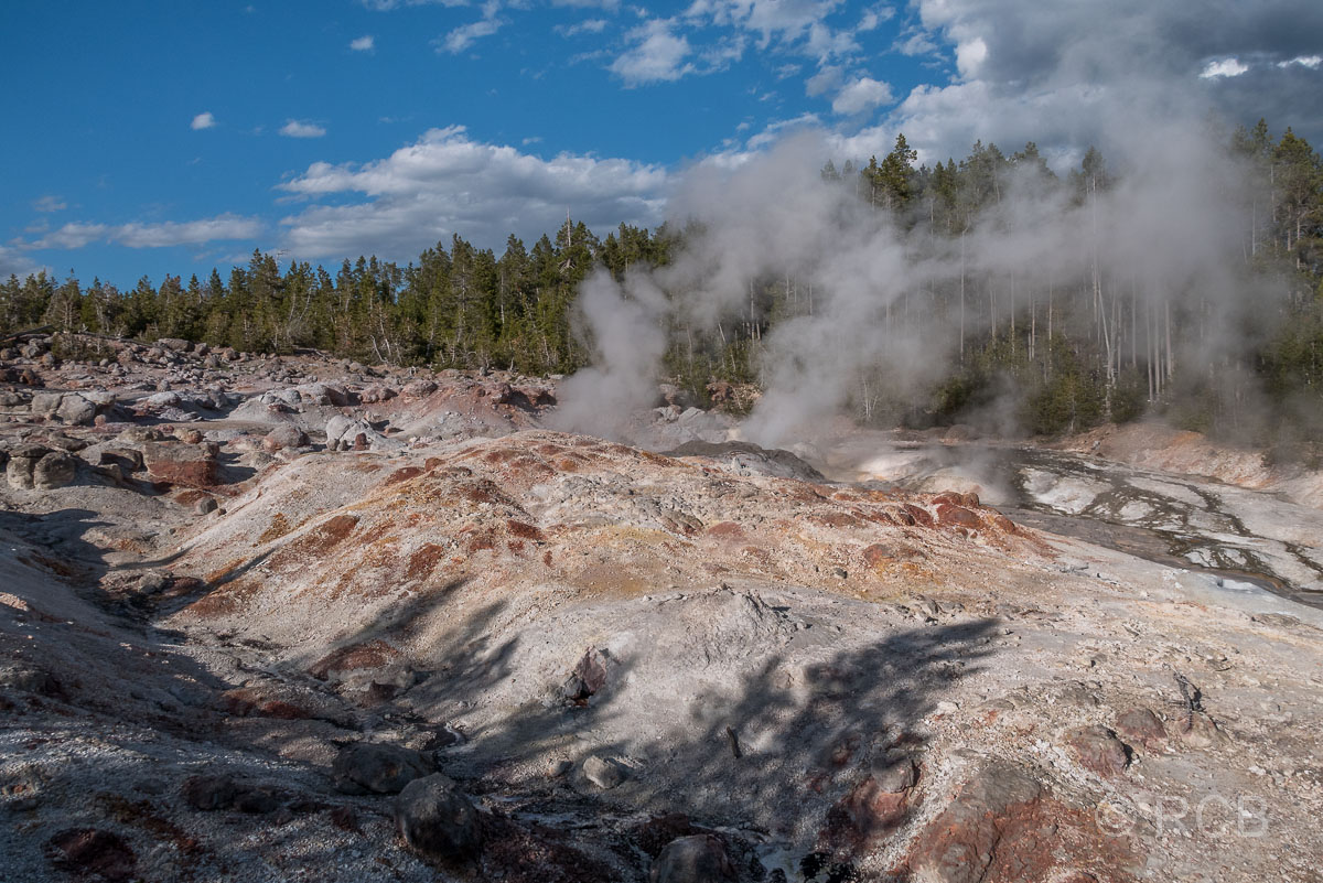 Norris Geyser Basin: Steamboat Geyser, Yellowstone NP