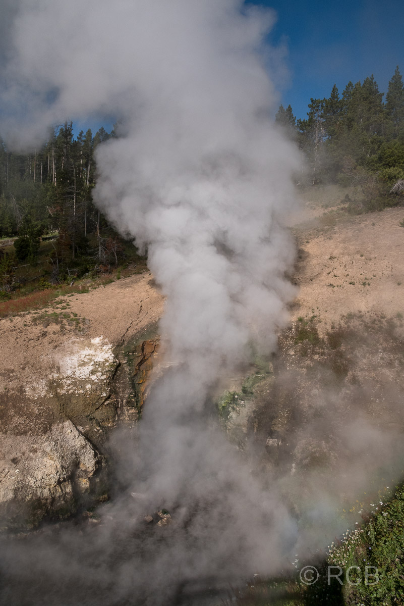 Dragon's Mouth Spring, Yellowstone NP