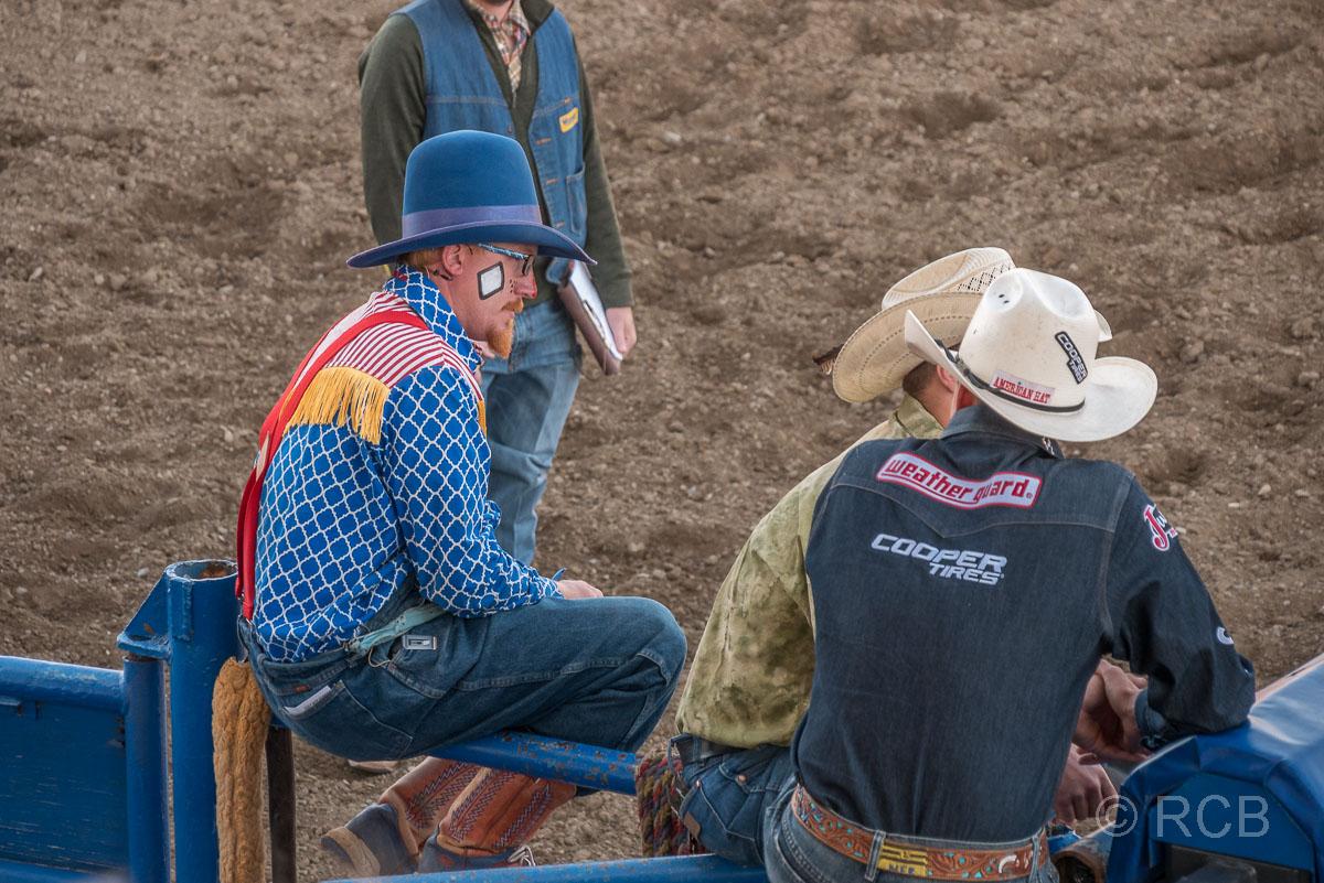 Cody Nite Rodeo, Rodeoclown