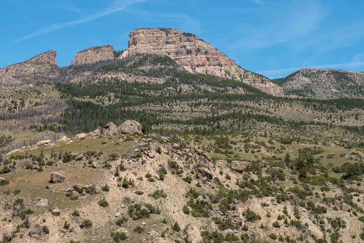 Fahrt durch die Bighorn Mountains