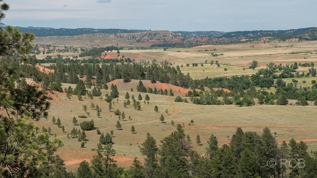 Ausblick vom Red Beds Trail, Devils Tower NM