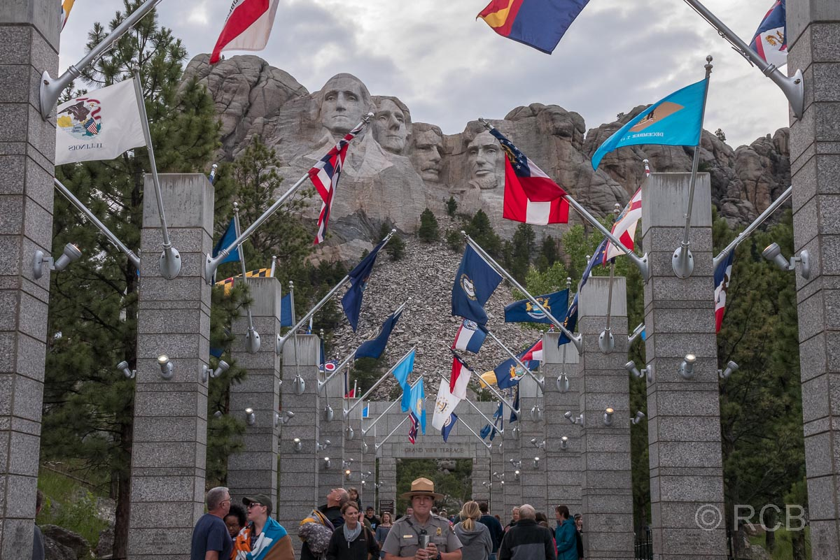 Avenue of the Flags, Mount Rushmore NM