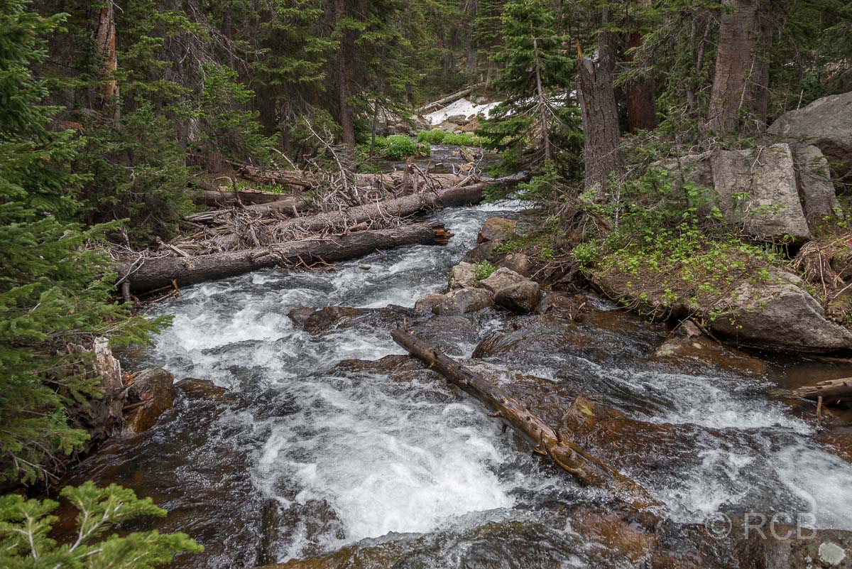 Icy Brook, Rocky Mountain NP