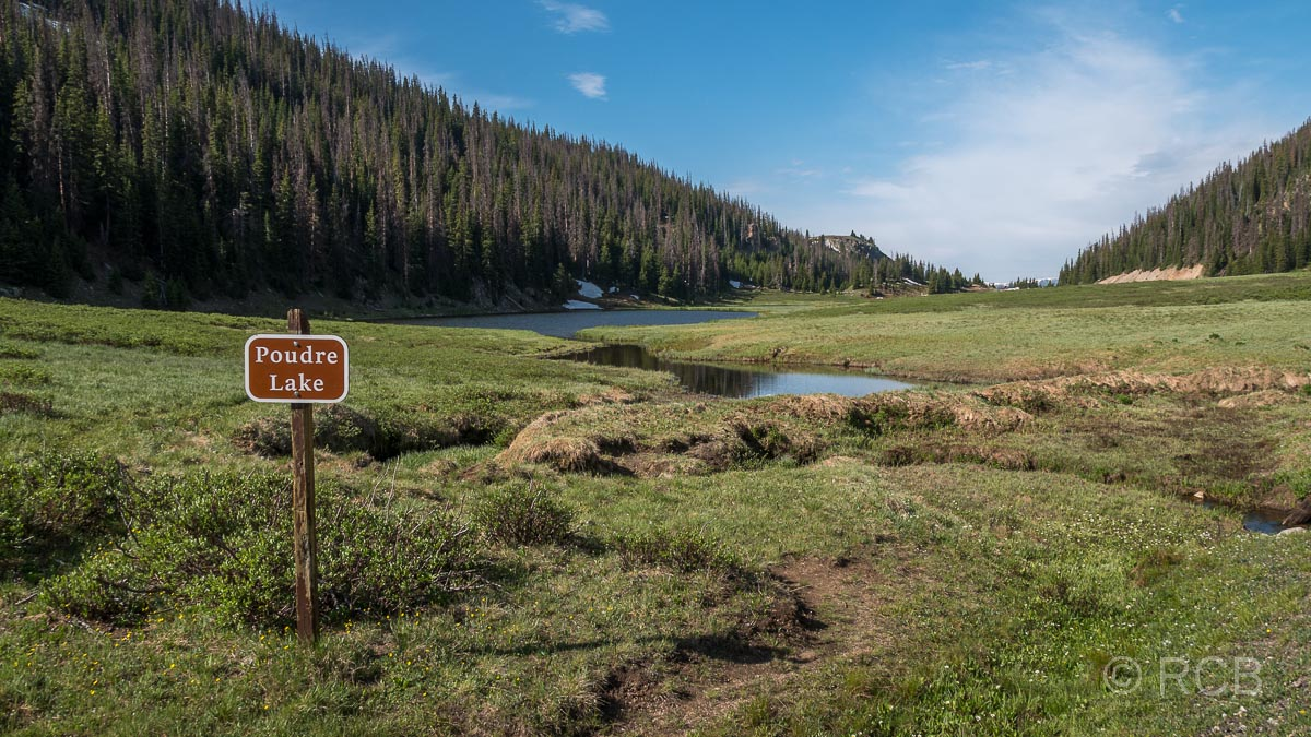 Poudre Lake, Rocky Mountain NP