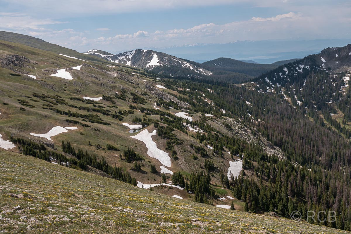 Ausblick vom Mount Ida Trail, Rocky Mountain NP