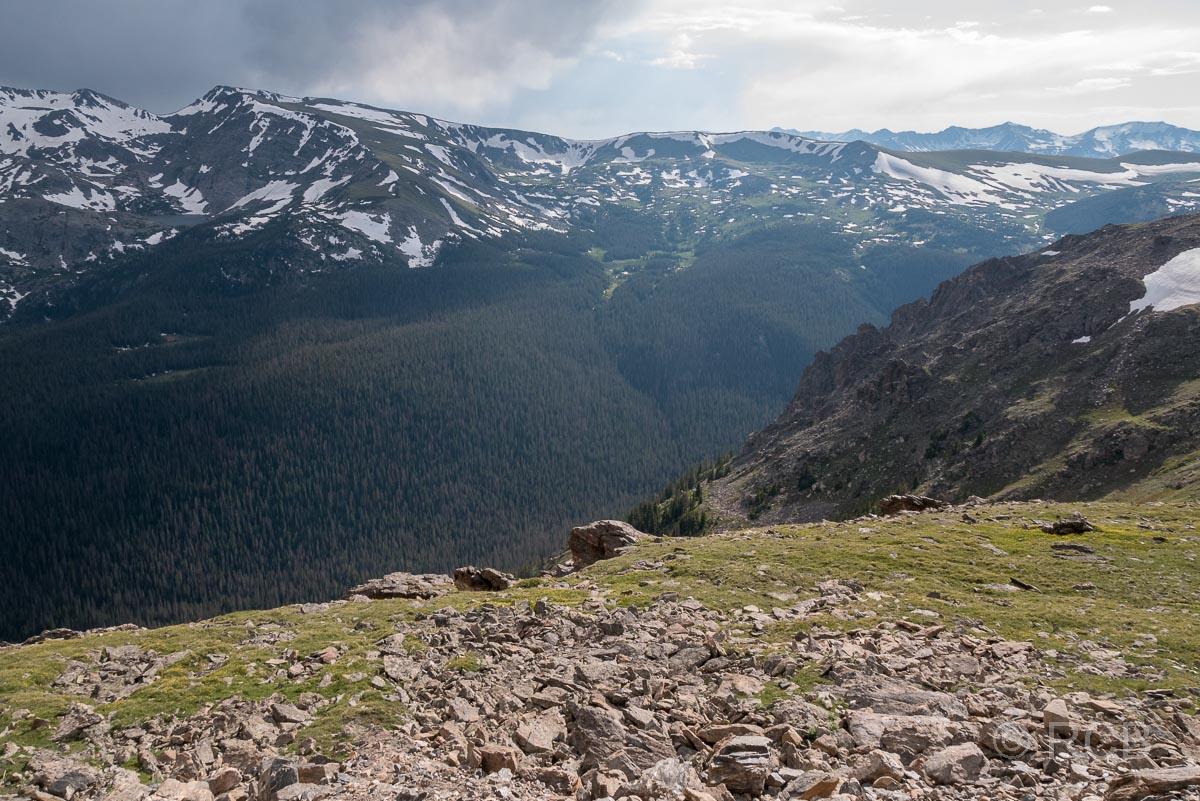 Mount Ida von der Trail Ridge Road aus gesehen, Rocky Mountain NP