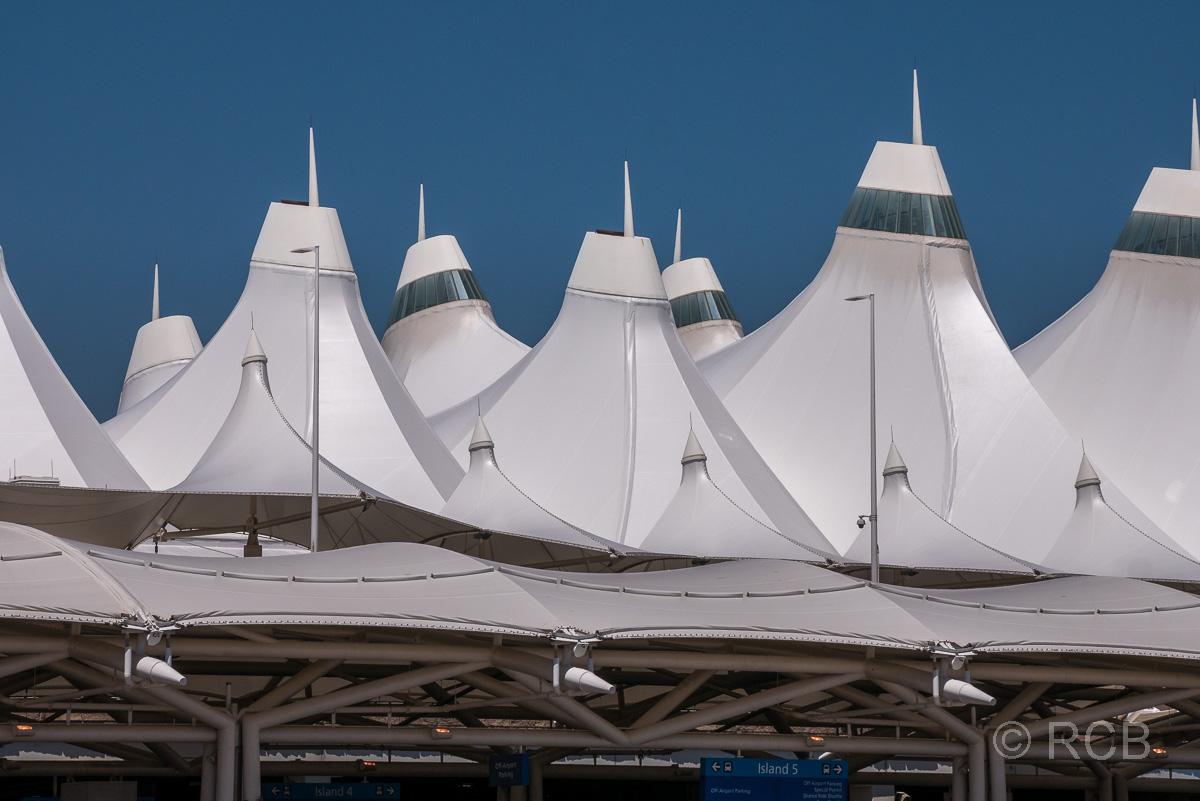 Zeltdach am Flughafen Denver