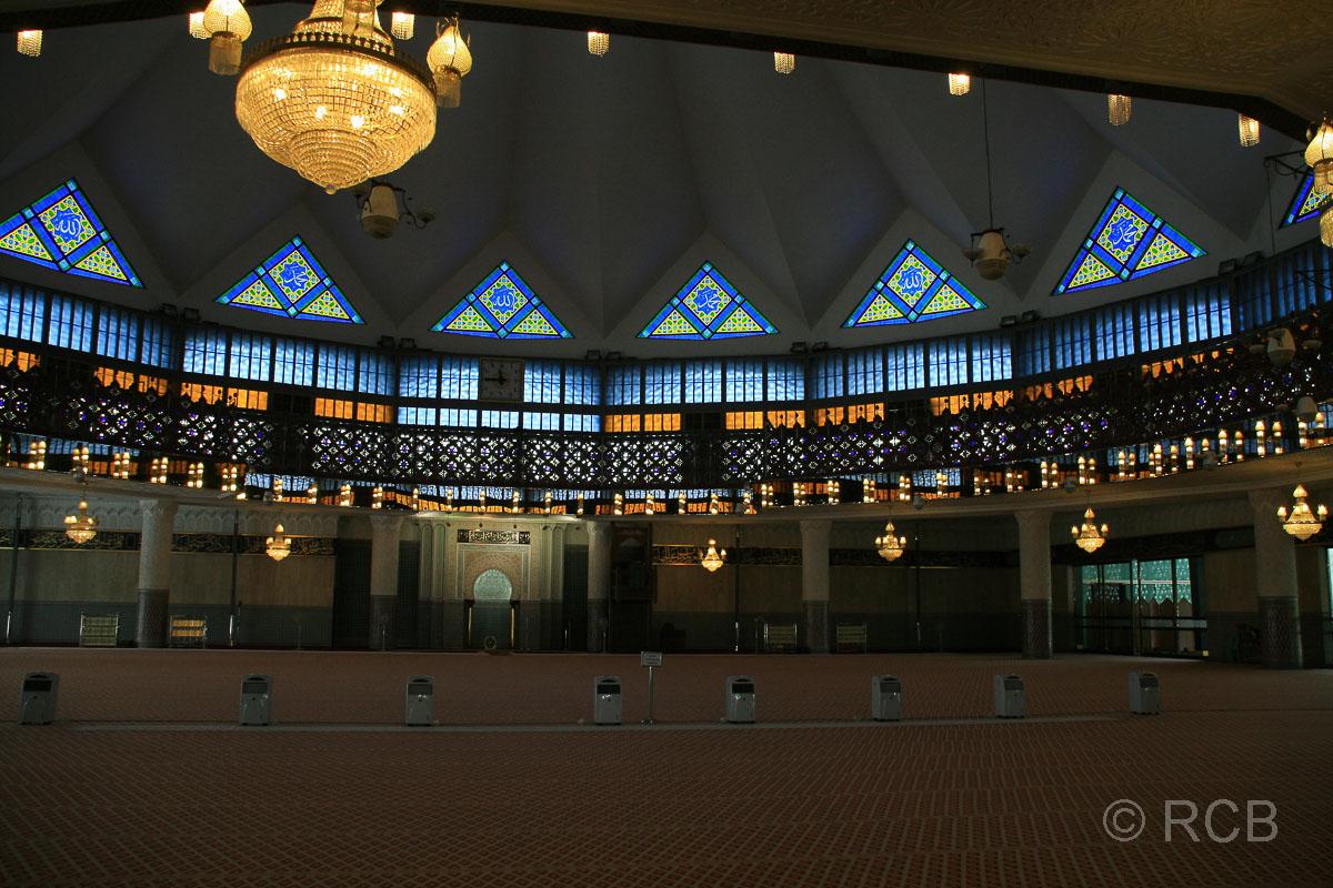Gebetsraum der Nationalmoschee