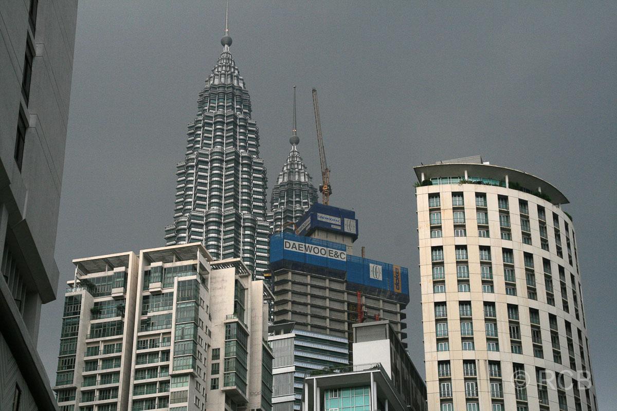 Blick auf die Petronas Twin Towers
