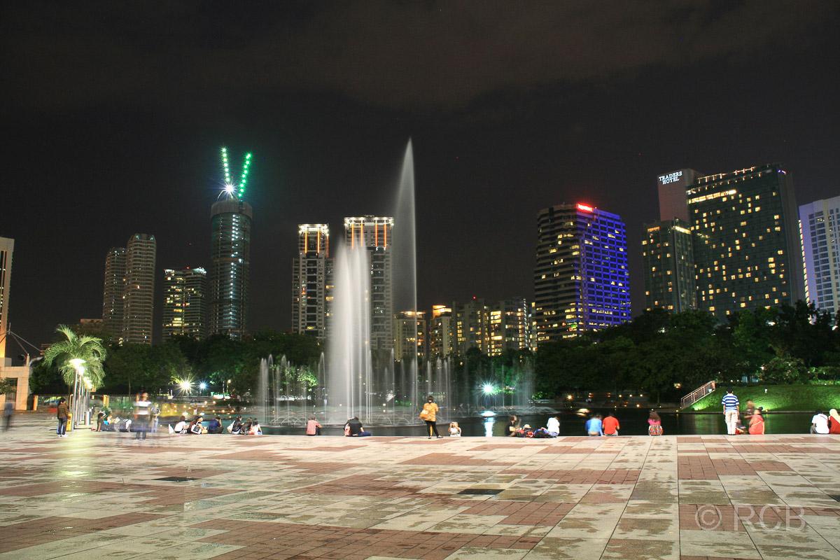 Park bei den Petronas Twin Towers