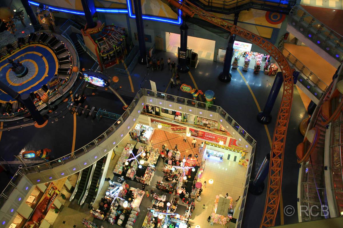 Indoor-Vergnügungspark im Berjaya Times Square Einkaufszentrum