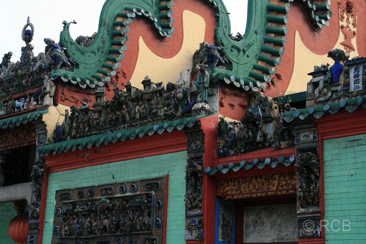 Dachgiebel in Chinatown