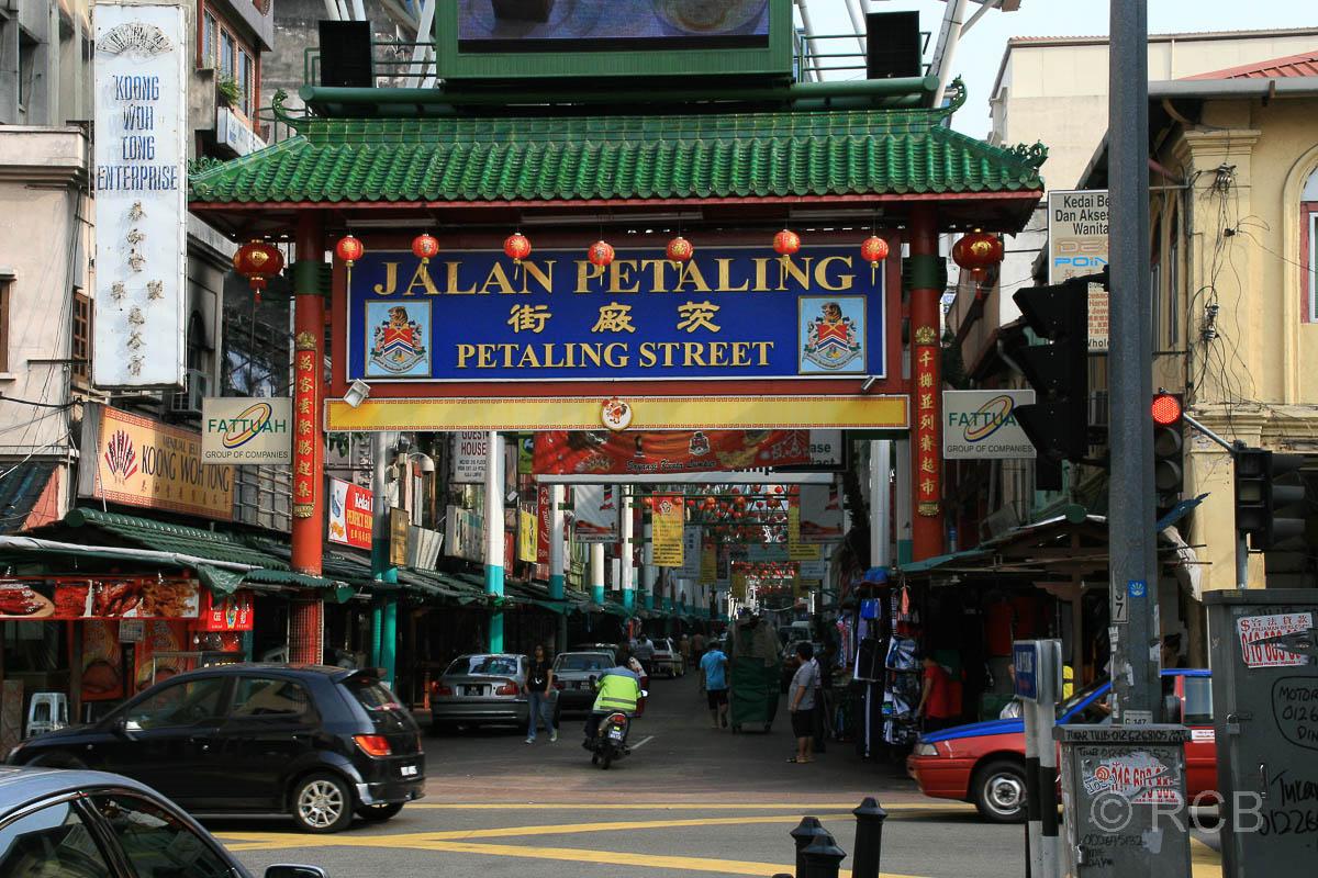 Portal zur Hauptstraße von Chinatown