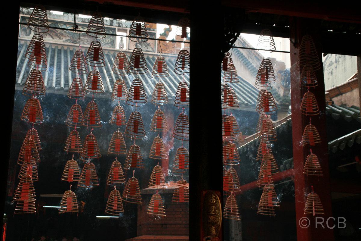 Räucherspiralen in Chinatown