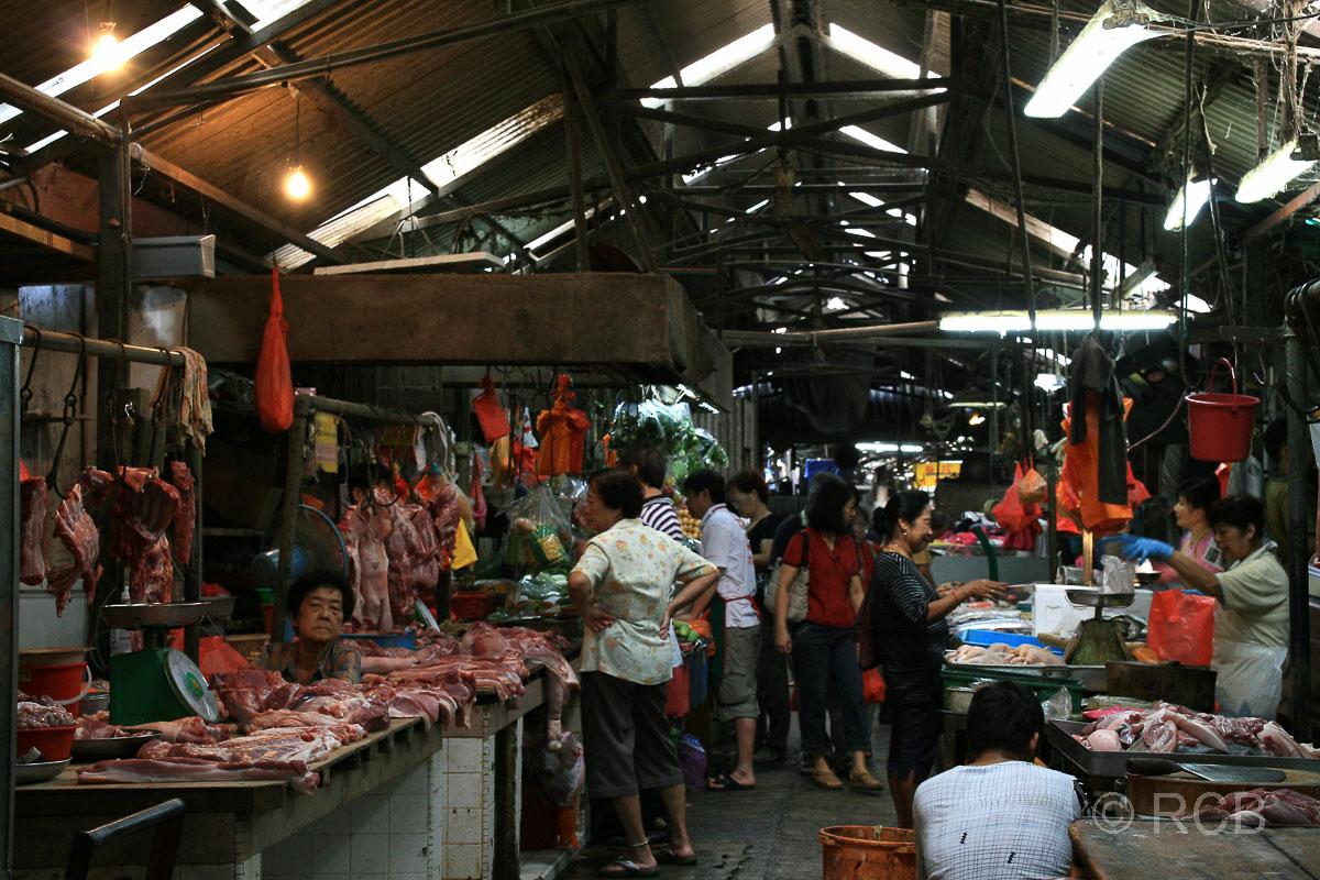Marktgasse in Chinatown